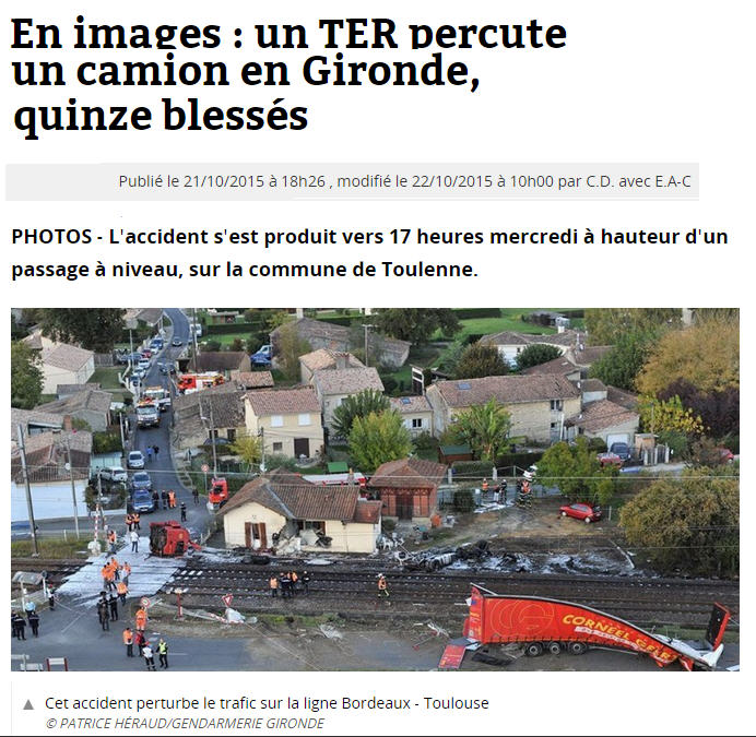 Article gironde accident ter camion2