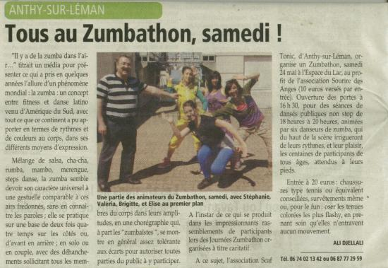 Zumbathon article messager v0